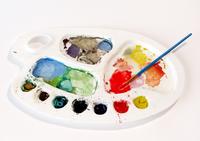 Artist's paint pallet