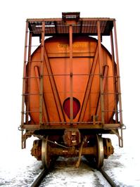 Orange wagon