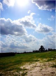 Sky, Sand, Water, Grass