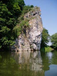 The Rock (River Lahn, Germany)