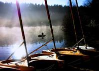 Windsurfers by the lake 2
