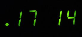 clock digits