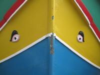 Luzzu - Traditional Maltese fishing boat