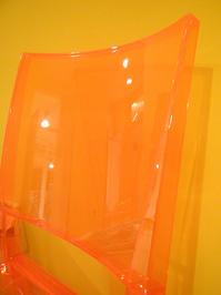 clode up trasparent chair