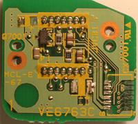 CCD rear PCB