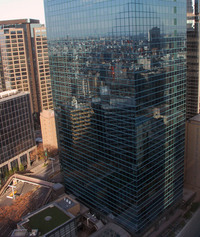 Tokyo Skyline Reflections 1