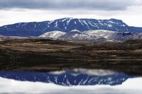 Iceland Mountain Reflection