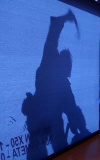 man shadow
