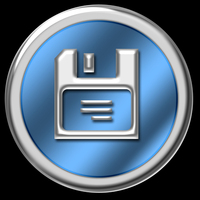 Blue & Chrome Website Buttons 5
