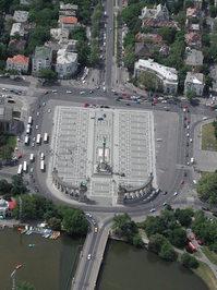 Hosok square Budapest/Hungary