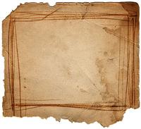 torn sheet of paper