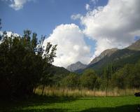 Aragonese Pyrenees mountains