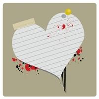Grungy Valentines Banner