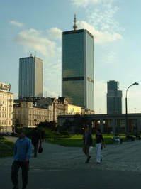 Skyscrapers in Warszawa