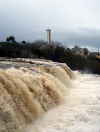 Ennistymon waterfalls