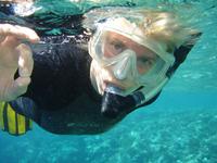 Female Snorkeller