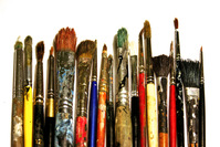 my old brushes