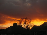 Sunset Over Suburbia 2