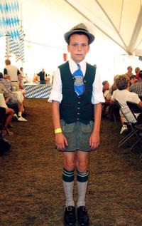 Boy at Oktoberfest