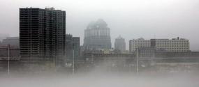 Fog on the Ohio River 3