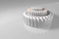 3D stars/gears