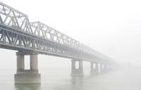 Bridge,Fog,India,Assam,Guwahati,Brahmaputra,River,Infinity