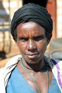 Ethiopian face