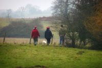 A Morning Walk In The Misty English Countryside
