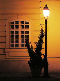 oldskool lamppost