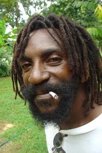 rasta man jamaica
