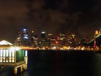 Sydney CBD at night 1