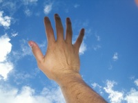 sky hand