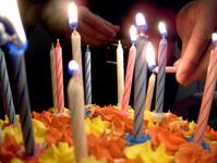 Gâteau d'anniversaire de Steve