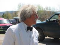 Mark Twain impersonator