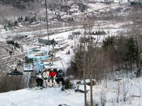 Hunter Mountain - ski lift