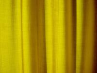 yellow curtain