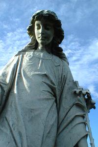 Cemetery Statuary 1