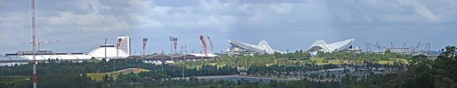 Sydney Olympic park Panorama