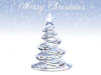 Shiny White Christmas 1