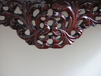 Wooden decor furniture carving