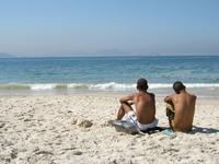 beach sceen