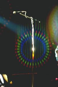 Pop concert Rainbow effect