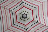 umbrella with stripes