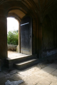 lacock abbey sun streaming thr
