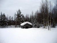 Lapland/Finland in winter 2