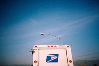 mail truck - lomo
