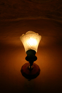 Old fashioned lamp