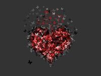 butterflies in heart 2