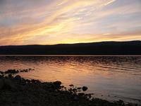 Dusk - Lac de Joux
