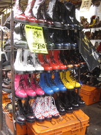 Boots of colors